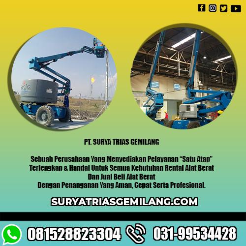 Jasa Sewa Boom Lift Tuban