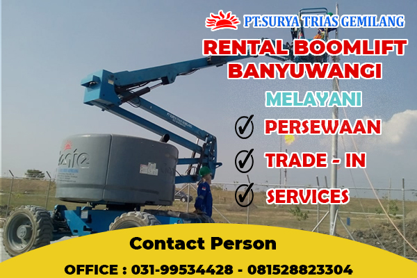 Rental Boomlift Banyuwangi